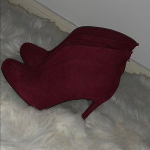 Heel booties by Andrea